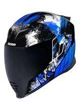 Full face helmet Icon Airflite Stim Blue