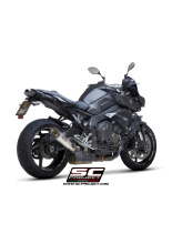 S1 Silencer for stock catalyst Slip-on SC-Project for Yamaha MT-10 / ABS / FZ-10 [16-17]