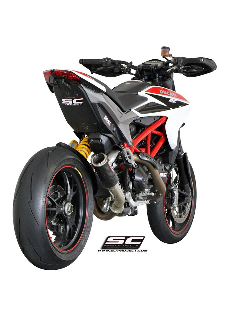 CR-T Silencer slip-on SC-Project for Ducati HYPERMOTARD 939