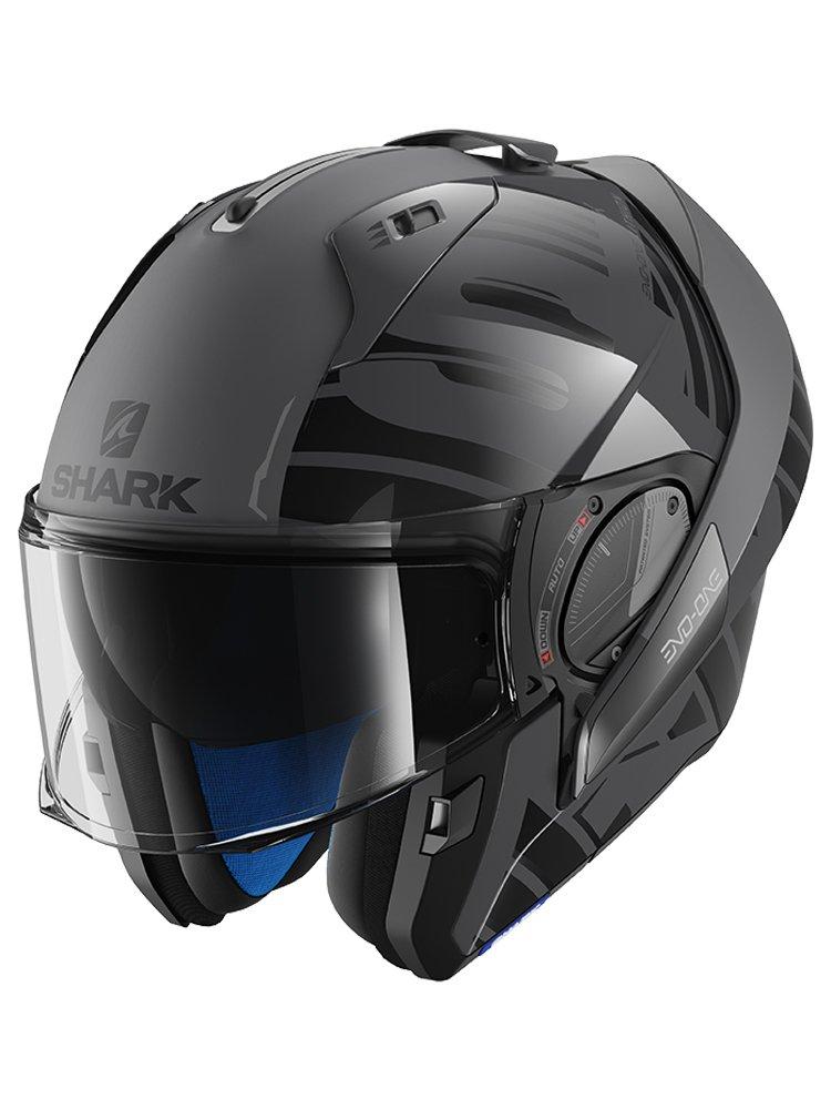 flip up helmet shark evo one 2 lithion moto online store. Black Bedroom Furniture Sets. Home Design Ideas