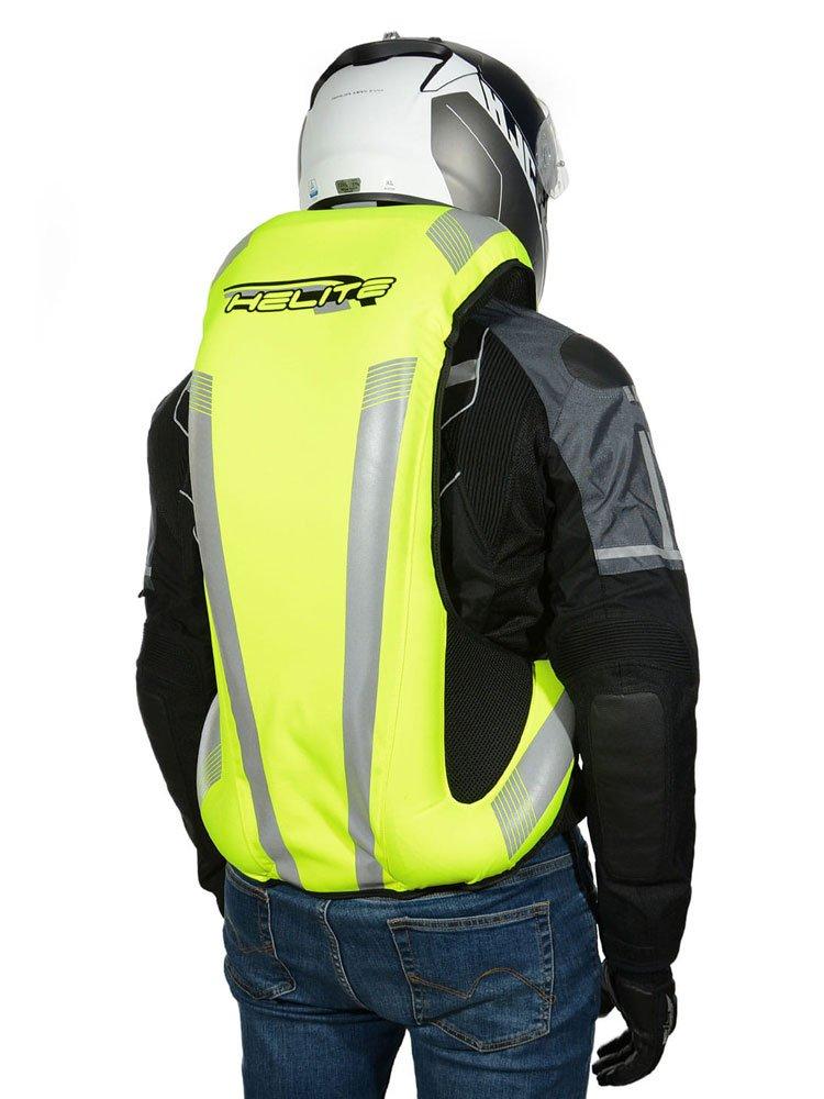 Motorcycle vest with airbag Helite Turtle 2 Air Nest - Hi