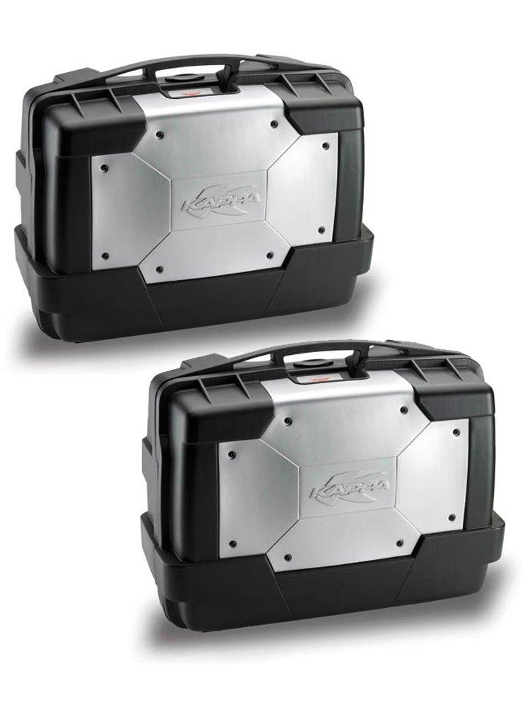 vendite all'ingrosso belle scarpe ultimo sconto Pair of side-cases Kappa Monokey KGR33N Garda (33 ltr) Moto-Tour ...