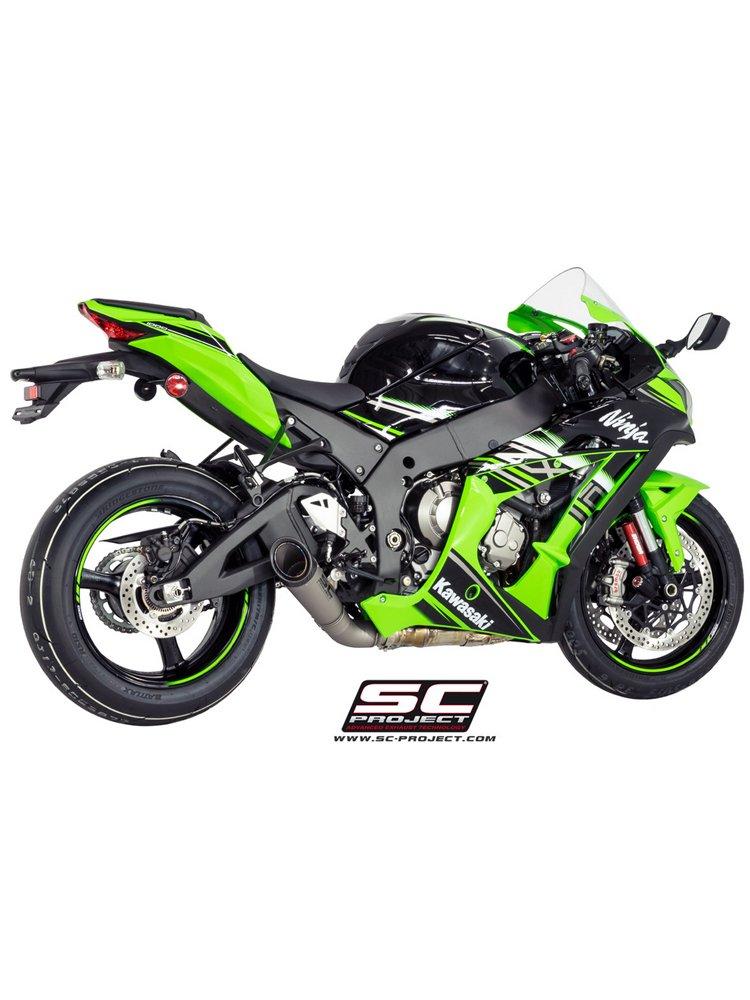 S1 Silencer Low Position Slip On Sc Project For Kawasaki Ninja Zx