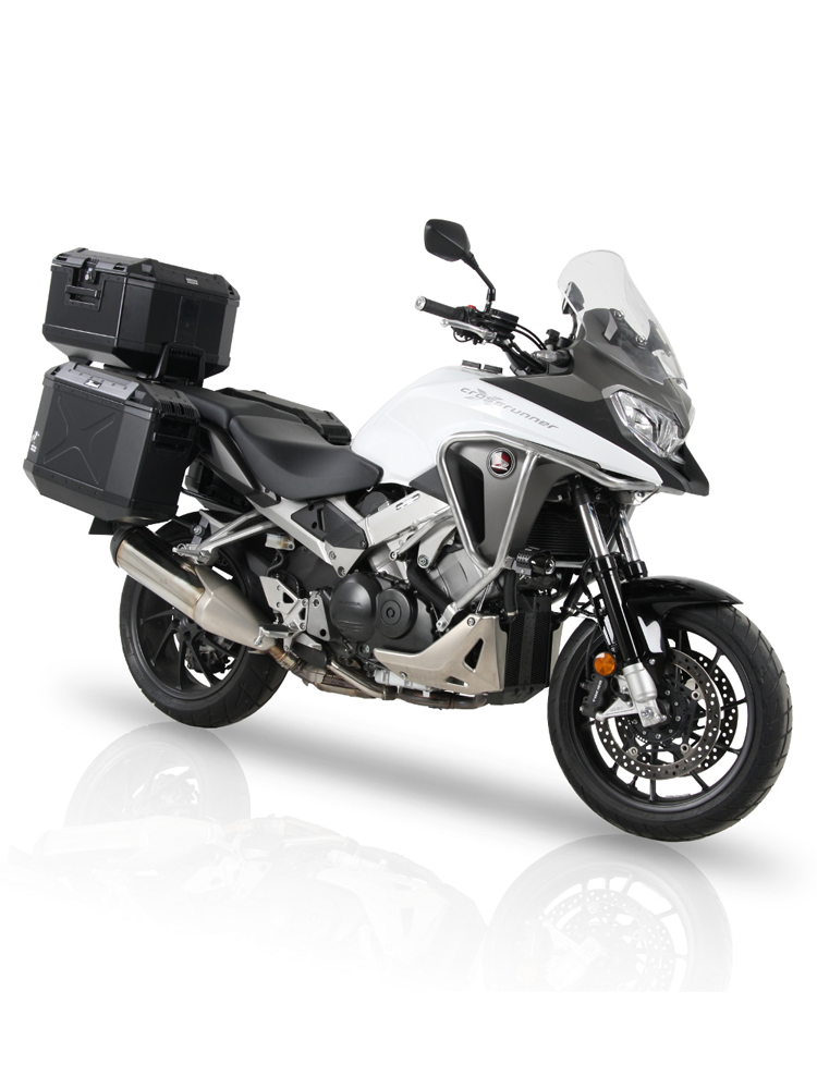 sidecarrier hepco becker honda vfr 800 x crossrunner 15 moto online store. Black Bedroom Furniture Sets. Home Design Ideas