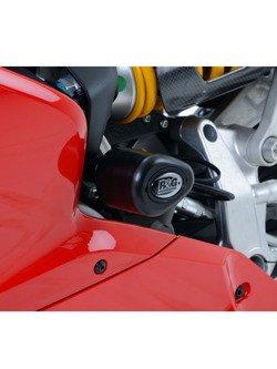 CRASH PADY AERO R&G FOR Ducati 1199 Panigale / 899 Panigale / 1299 Panigale / 959 Panigale BLACK