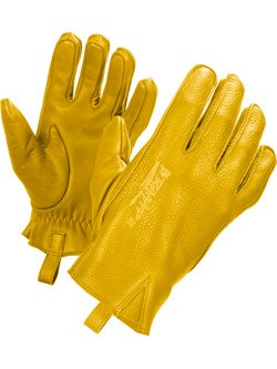 Leather Glove John Doe Ironhead yellow
