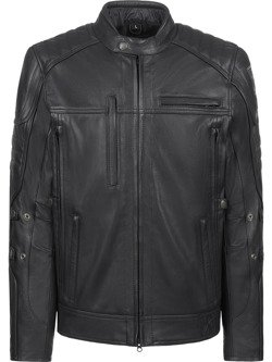 Leather Jacket JOHN DOE Technical with aramid fiber