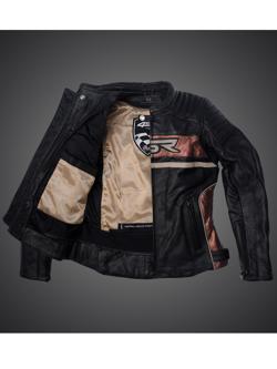 Leather jacket 4SR Roadster II Steel Grey