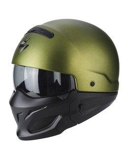 Modular helmet Scorpion EXO-COMBAT GREEN