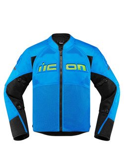 Motorcycle Jacket Icon Contra 2 light blue