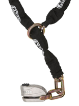 Blokada tarczy hamulcowej z łańcuchem Abus GRANIT Detecto X Plus 8008 12KS Black Loop