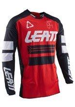 Koszula off-road Leatt GPX 4.5 X-Flow czerwono-czarna