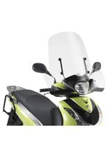 Przezroczysta szyba GIVI Honda SH 125i - 150i [09-12][mocowanie w zestawie]