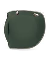 Szyba 3-SNAP BUBBLE DELUXE Wayfarer Green do kasku BELL CUSTOM 500