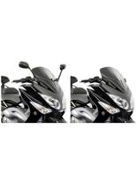 Szyba sportowa czarna Givi Yamaha T-MAX 500 (08 > 11)