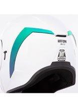 Tylny spojler do kasku Icon Airform™ RST Green