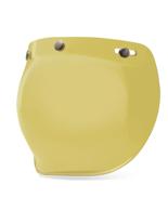 Żółta Szyba 3-SNAP BUBBLE do kasku BELL CUSTOM 500