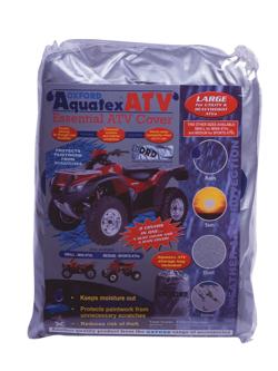 Biketec aquatex atv, pokrowiec na quad, atv kolor srebrny
