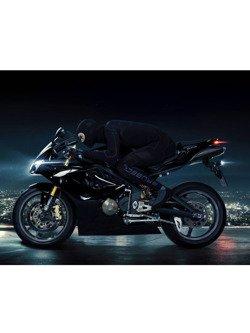 Bluza męska BRUBECK MOTORCYCLE COOLER z długim rękawem