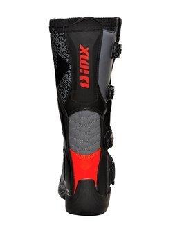 Buty enduro iMX Racing X-Two czarno-pomarańczowo-szare