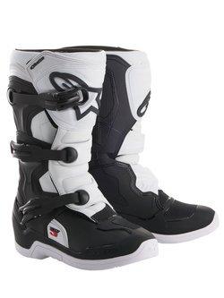 Buty off-road młodzieżowe Alpinestars Tech 3S czarno-białe