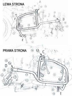 Gmol silnika Hepco&Becker do BMW R 850 R [od 03] / R 1150 R