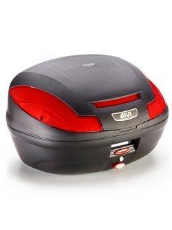 Kufer centralny GIVI Monolock® E470 Simply III [uniwersalna płyta montażowa w zestawie; pojemność: 47 litrów]