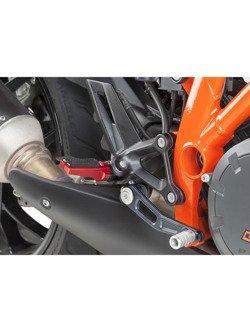 Podnóżki PUIG Sport z gumą (czerwone)