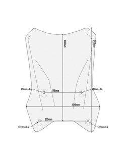 Przezroczysta szyba GIVI KTM 1290 Super Adventure R/ S [17-18]