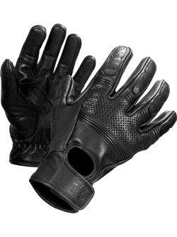 Rękawice motocyklowe skórzane John Doe Fresh - XTM czarne