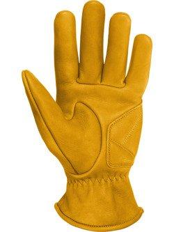 Rękawice motocyklowe skórzane John Doe Grinder - XTM żółte