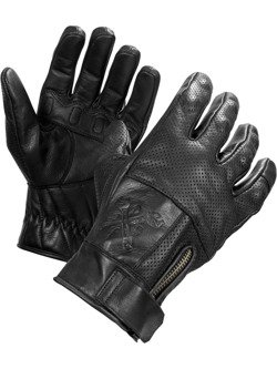 Skórzane rękawice motocyklowe JOHN DOE Shaft - XTM