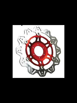 Tarcza Hamulcowa EBC VR817RED VEE Rotor czerwona na przód. Średnica 320mm.