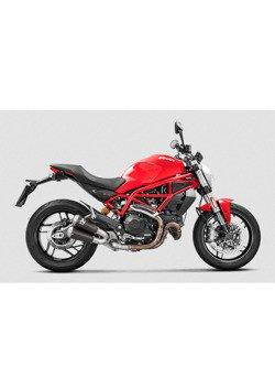 Tłumik Slip-On Line (TITANIUM) Akrapović Ducati Monster 797 [17-19] / Scrambler Cafe Racer [17-19] / Scrambler Icon/Urban Enduro/Classic/Full Throttle [15-19]