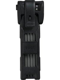 Zapięcie składane ABUS Bordo Combo 6100/75 black ST z etui transportowym.