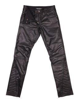 Damski spodnie skórzane MODEKA Edda Lady