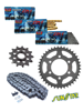 HONDA NX 650DOMINATOR [89-91/95-01] zestaw napędowy DID520 ZVMX SUPER STREET(X-ring hiper-wzmocniony) zębatki SUNSTAR