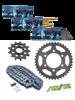 KTM EXC 400 RACING [03-09] zestaw napędowy DID520 ZVMX SUPER STREET (X-ring hiper-wzmocniony) zębatki SUNSTAR