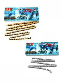 Łańcuch napędowy D.I.D. 525 ZVM-X SUPER STREET X-Ring hiper wzmocniony [128 ogniw]