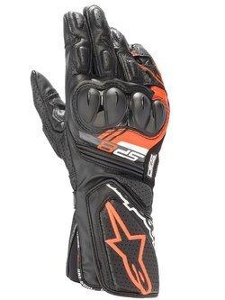 Rękawice motocyklowe Alpinestars SP-8 V3 czarno-czerwone fluo