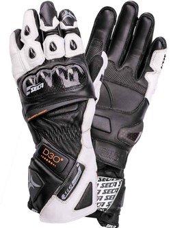 Rękawice sportowe Seca Trackday białe