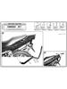 Stelaż pod kufer centralny Monokey i Monolock (Kawasaki ZR 7 / ZR 7 S 750 99-04)