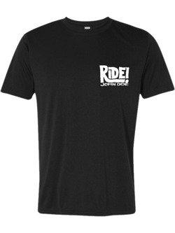 T-Shirt John Doe Ride czarny